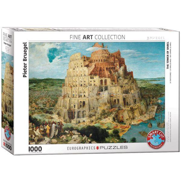 Puzzle Eurographics Torre de Babel de 1000 piezas