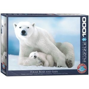 Puzzle Eurographics Oso Polar y cría de 1000 piezas