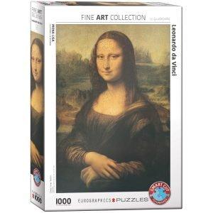 Puzzle Eurographics Mona Lisa da Vinci de 1000 piezas