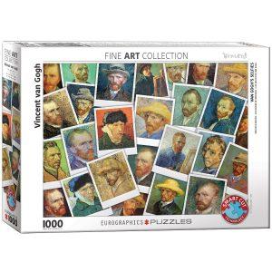 Puzzle Eurographics Van Gogh Selfies de 1000 piezas