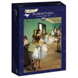Puzzle Bluebird Clase de danza de Degas de 1000 piezas