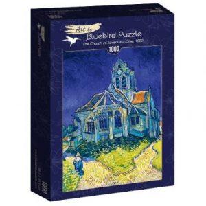 Puzzle Bluebird La Iglesia de Auvers de Van Gogh de 1000 piezas