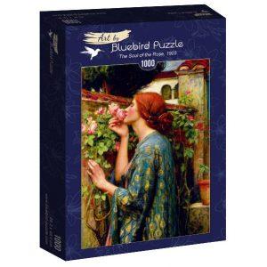 Puzzle Bluebird El alma de la rosa de 1000 piezas