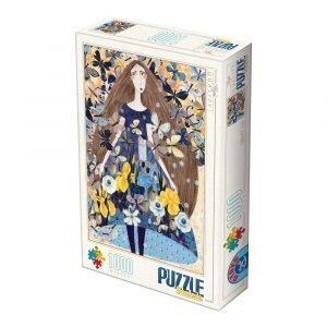 Puzzle DToys Primavera de Andrea Kürti de 1000 piezas