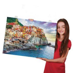 Hojas adhesivas para pegar puzzles de Eurographics (8 unidades)