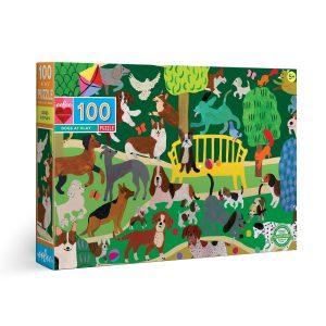 Puzzle niños eeBoo Perros de 100 piezas