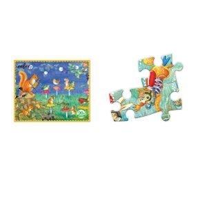 Puzzle niños eeBoo Música de 36 piezas