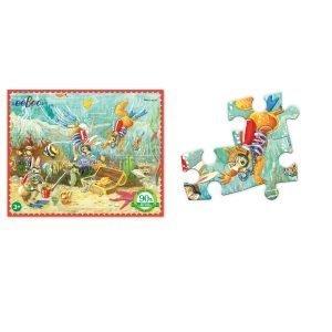 Puzzle niños eeBoo Mar de 36 piezas
