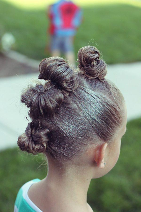 Purpurina pelo y cuerpo