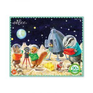 Puzzle niños eeBoo Espacio de 36 piezas