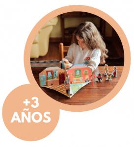 JUEGOS Y JUGUETES DE 3 A 6 AÑOS