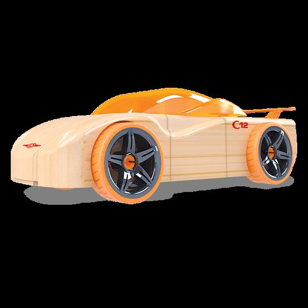 Coche madera naranja C12 Cipher Automoblox