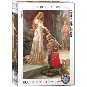 Puzzle Eurographics El Elogio de Edmund Blair 1000 piezas