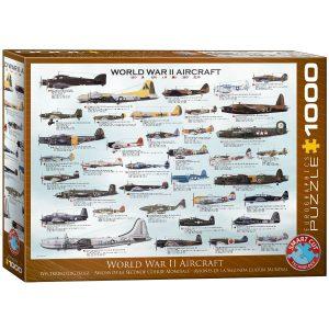 Puzzle Eurographics Aviones Segunda Guerra Mundial 1000 piezas