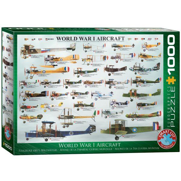Puzzle Eurographics Aviones Primera Guerra Mundial 1000 piezas