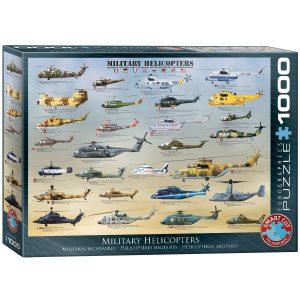 Puzzle Eurographics Helicópteros militares del mundo 1000 piezas