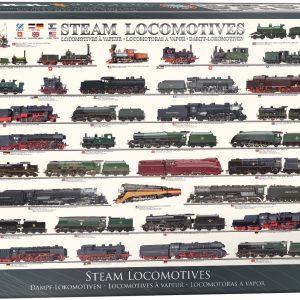 Puzzle Eurographics Locomotoras de vapor 1000 piezas