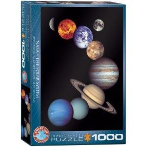 Puzzle Eurographics NASA El Sistema Solar 1000 piezas