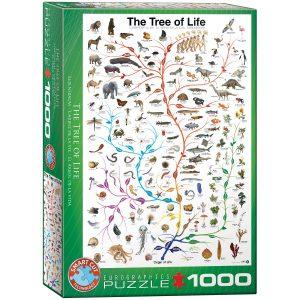 Puzzle Eurographics El arbol de la vida 1000 piezas