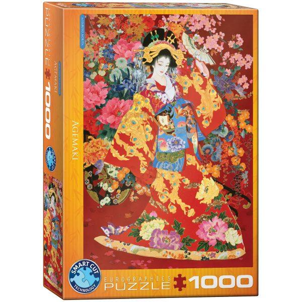 Puzzle Eurographics Agemaki de Haruyo Morita 1000 piezas