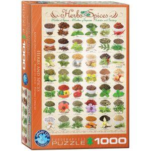 Puzzle Eurographics Hierbas y especias 1000 piezas