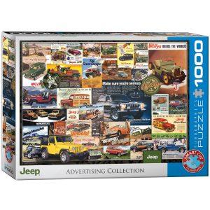 Puzzle Eurographics Vintage Publicidad de Jeep 1000 piezas