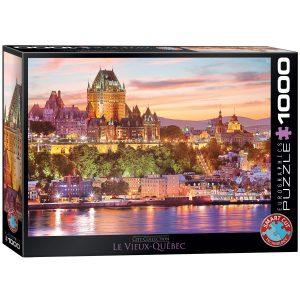 Puzzle Eurographics Le Vieux Québec 1000 piezas
