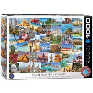 Puzzle Eurographics Globertrotters Mexico 1000 piezas