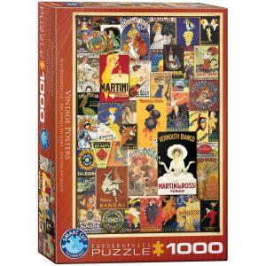 Puzzle Eurographics Anuncios Vintage 1000 piezas