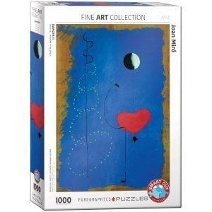 Puzzle Eurographics Bailarina II de Joan Miró 1000 piezas