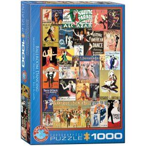 Puzzle Eurographics Baile de salón 1000 piezas