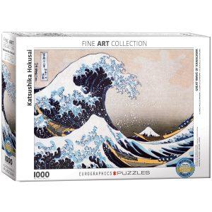Puzzle Eurographics La Gran Ola de Kanagawa de Katsushika Hokusai 1000 piezas