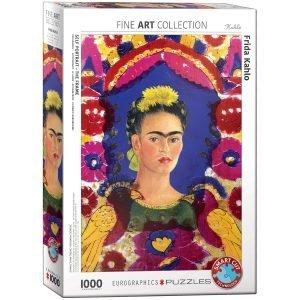 Puzzle Eurographics Autoretrato - El Marco de Frida Kahlo 1000 piezas