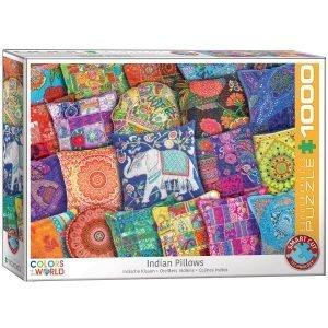 Puzzle Eurographics Almohadas indias 1000 piezas