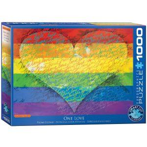 Puzzle Eurographics Amor y orgullo - Love and Pride 1000 piezas