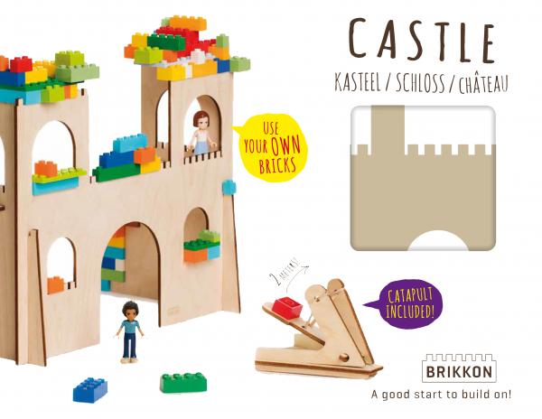 Castillo de madera de Brikkon