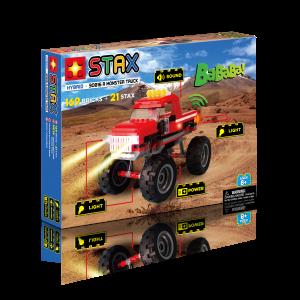 Juego construcción Monster Truck Rojo
