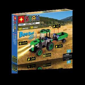 Juego construcción Tractor Stax Hybird