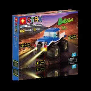 Juego construcción Monster Truck Azul Stax Hybird