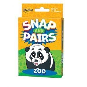 Juego de cartas Snap and Pairs Zoo de Cheatwell
