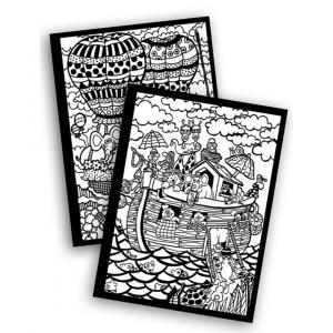 Carpeta Infantil Arca de Noé de Colorvelvet
