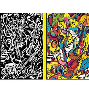 Carpeta Infantil Anillas Música de Colorvelvet