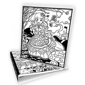 Carpeta Infantil Princesas de Colorvelvet