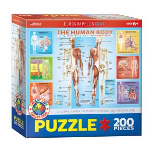 Puzzle niños Eurographics Cuerpo Humano de 200 piezas